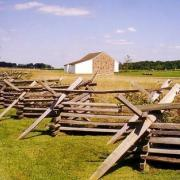 Edward McPherson Farm. Gettysburg farms like this one were used as field hospitals.