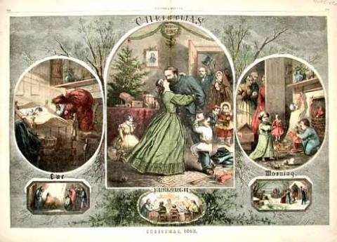 Civil War Christmas Song: I Heard the Bells on Christmas Day!